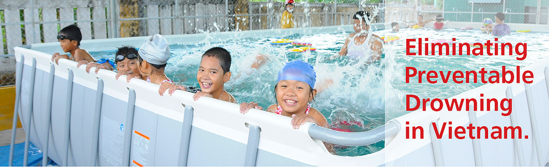 Swim for Life Vietnam is Eliminating prventable drowning by teaching children to swim.